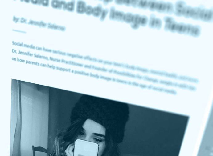 The Relationship Between Social Media and Body Image in Teens